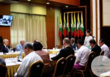 Launch of the Advisory Commission on Rakhine State on September 5, 2016. (Photo by Aung Kyaw Moe / Advisory Commission on Rakhine State)